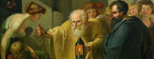 Диоген ищет настоящего человека Тишбейн, Иоганн Генрих Вильгельм