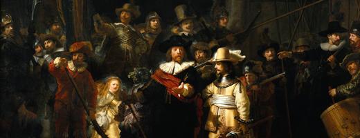 Ночной дозор. Рембрандт