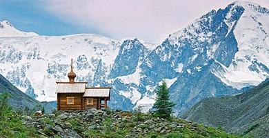 Часовня Архангела Михаила.Гора Белуха